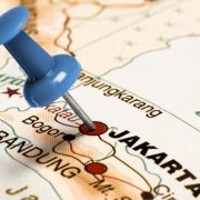 Jakarta-Indonesia-map