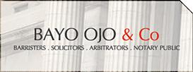 Bayo ojo & Co logo