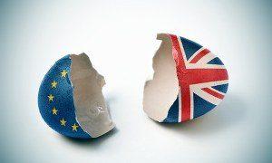 brexit - broken egg